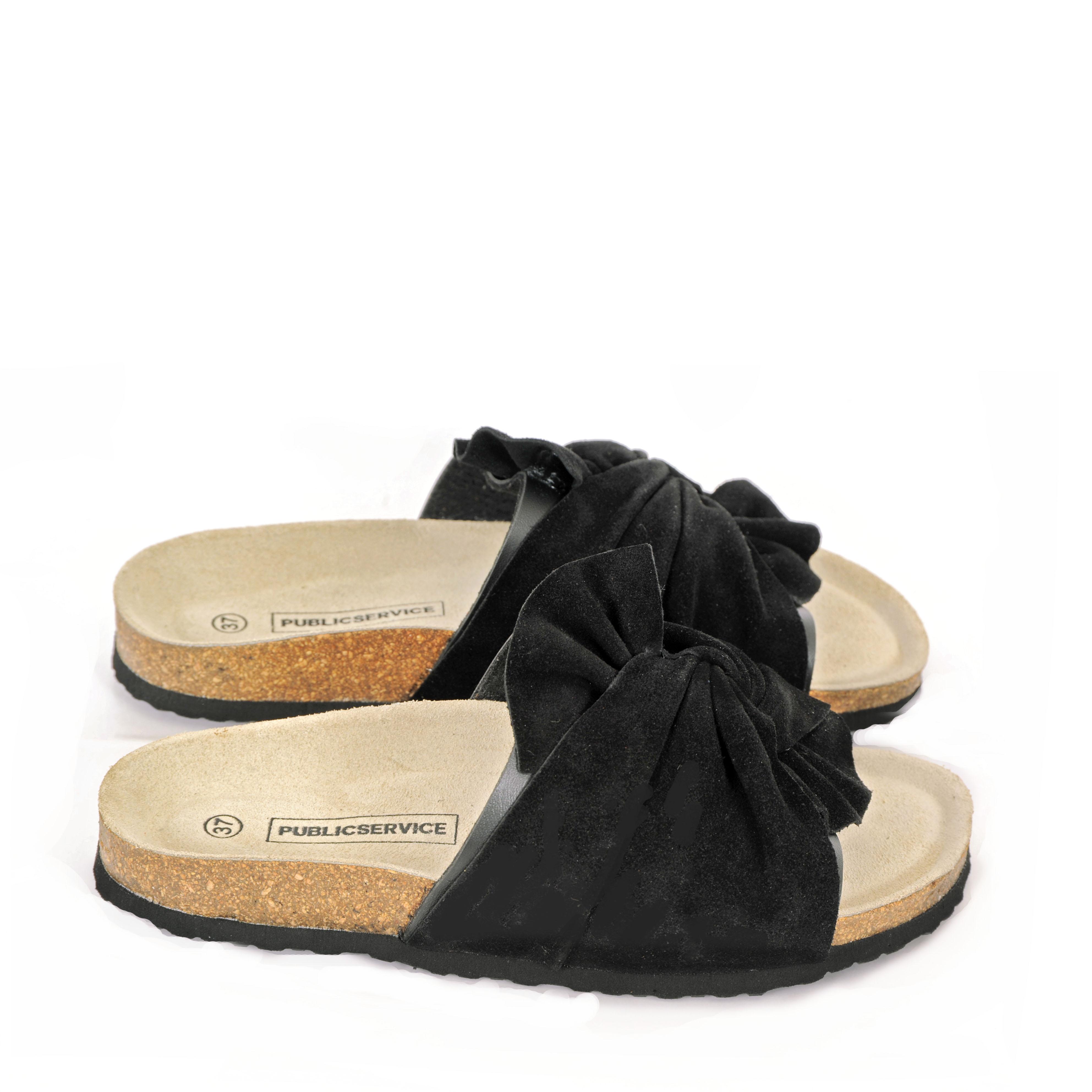 Maison Shoeshibar Aimee Sandal Black Mitt Skattekammer
